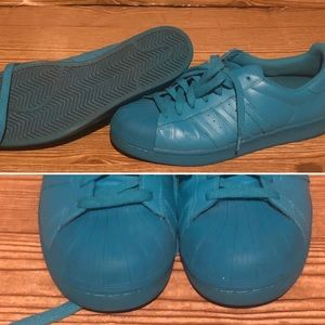 Men's adidas shell toes shoe